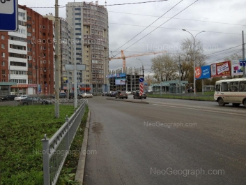 View to: Belinskogo street, 175; Belinskogo street, 177. Yekaterinburg (Sverdlovskaya oblast)
