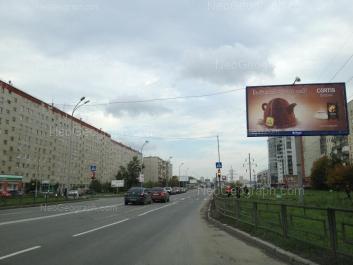 На фото видно: Таватуйская улица, 1Б; Таватуйская улица, 1А; Таватуйская улица, 4; Таватуйская улица, 8. Екатеринбург (Свердловская область)