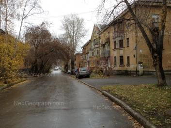 View to: Iulskaya street, 42; Iulskaya street, 53; Uchiteley street, 3. Yekaterinburg (Sverdlovskaya oblast)