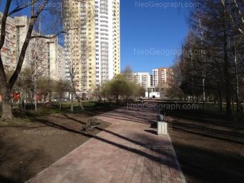 View to: Belorechenskaya street, 21; Shaumyana street, 93; Shaumyana street, 103/1. Yekaterinburg (Sverdlovskaya oblast)