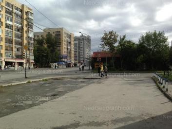 View to: Krauliya street, 2; Krauliya street, 3; Krauliya street, 4; Krauliya street, 6. Yekaterinburg (Sverdlovskaya oblast)