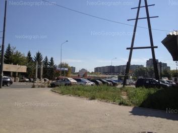 На фото видно: Комсомольская улица, 73к; Комсомольская улица, 73а. Екатеринбург (Свердловская область)