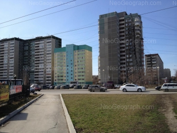 View to: Sedova avenue, 26/3; Sedova avenue, 26/2; Sedova avenue, 32; Tavatuiskaya street, 1В; Tavatuiskaya street, 1д; Tavatuiskaya street, 1Б. Yekaterinburg (Sverdlovskaya oblast)