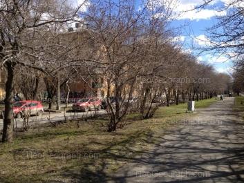 На фото видно: Академическая улица, 7; Мира улица, 7. Екатеринбург (Свердловская область)