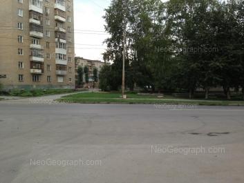 View to: Krasnoflotsev street, 43; Krasnoflotsev street, 47. Yekaterinburg (Sverdlovskaya oblast)
