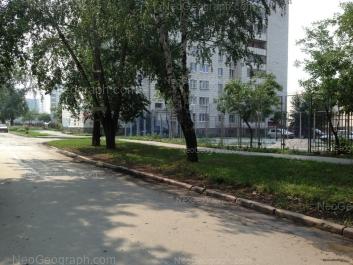 На фото видно: Стачек улица, 59. Екатеринбург (Свердловская область)