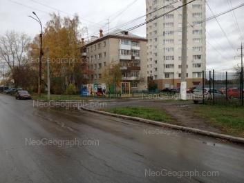 View to: Luganskaya street, 2; Mashinnaya street, 51. Yekaterinburg (Sverdlovskaya oblast)