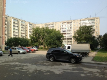 View to: Frezerovschikov street, 26. Yekaterinburg (Sverdlovskaya oblast)