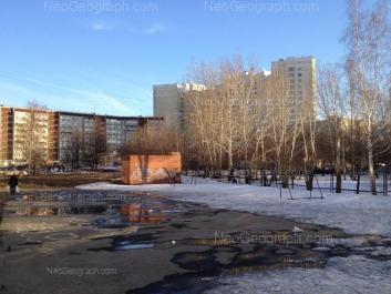 View to: Tramvainiy lane, 15; Smazchikov street, 3; Smazchikov street, 5. Yekaterinburg (Sverdlovskaya oblast)