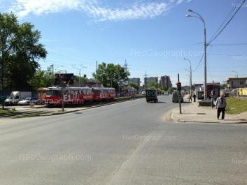 View to: Avtomagistralnaya street, 33; Avtomagistralnaya street, 35; Bebeliya street, 184. Yekaterinburg (Sverdlovskaya oblast)