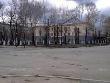 View to: Minometchikov street, 62; Solikamskaya street, 2. Yekaterinburg (Sverdlovskaya oblast)