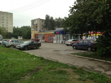 View to: Shefskaya street, 87 к1; Shefskaya street, 89 к1. Yekaterinburg (Sverdlovskaya oblast)