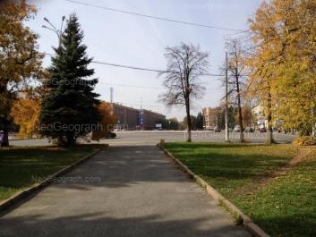 View to: Bulvar Kulturi boulevard, 1; Bulvar Kulturi boulevard, 2; Mashinostroiteley street, 4; Mashinostroiteley street, 19. Yekaterinburg (Sverdlovskaya oblast)