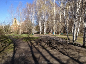 View to: Shaumyana street, 82. Yekaterinburg (Sverdlovskaya oblast)