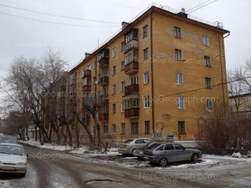 View to: Kolmogorova street, 58; Kolmogorova street, 60; Odinarka street, 2в. Yekaterinburg (Sverdlovskaya oblast)