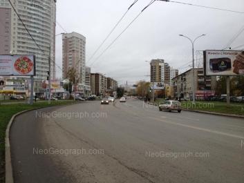 View to: Belinskogo street, 169б; Belinskogo street, 218 к1; Savvi Belikh street, 2. Yekaterinburg (Sverdlovskaya oblast)