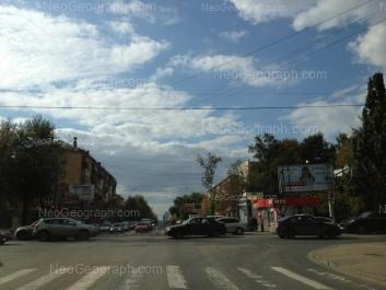 На фото видно: Восточная улица, 96; Куйбышева улица, 78; Куйбышева улица, 125. Екатеринбург (Свердловская область)