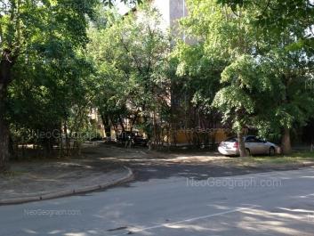 View to: Industrii street, 54. Yekaterinburg (Sverdlovskaya oblast)
