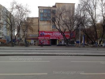 View to: Malisheva street, 142 (Общежитие УрГАУ №1). Yekaterinburg (Sverdlovskaya oblast)