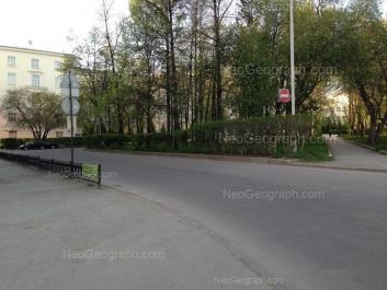 View to: Pervomaiskaya street, 88 (Суворовское училище). Yekaterinburg (Sverdlovskaya oblast)