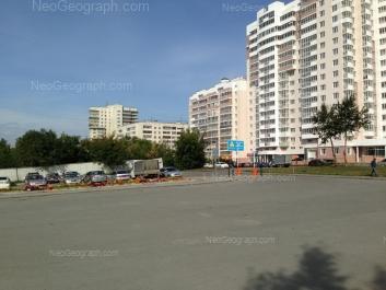 View to: Tatischeva street, 56; Tatischeva street, 58; Tatischeva street, 60. Yekaterinburg (Sverdlovskaya oblast)