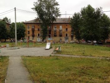 View to: Lomonosova street, 25. Yekaterinburg (Sverdlovskaya oblast)