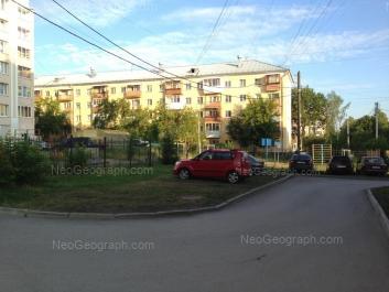 View to: Pobedi street, 6. Yekaterinburg (Sverdlovskaya oblast)