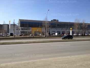 На фото видно: Бебеля улица, 115. Екатеринбург (Свердловская область)