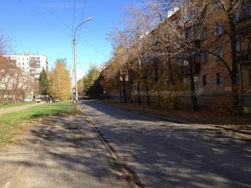 View to: Lomonosova street, 26; Lomonosova street, 28; Lomonosova street, 55; Lomonosova street, 57. Yekaterinburg (Sverdlovskaya oblast)