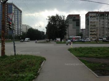 На фото видно: Таганская улица, 54; Таганская улица, 55; Таганская улица, 57. Екатеринбург (Свердловская область)
