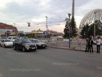View to: 8 Marta street, 43А; 8 Marta street, 43 (Цирк); Kuibisheva street, 36. Yekaterinburg (Sverdlovskaya oblast)