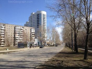 View to: Pekhotintsev street, 19; Pekhotintsev street, 21а; Pekhotintsev street, 23. Yekaterinburg (Sverdlovskaya oblast)