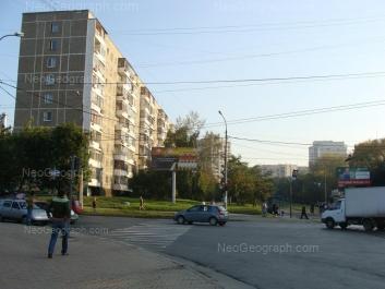 На фото видно: Белореченская улица, 6. Екатеринбург (Свердловская область)