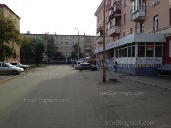 View to: Zavodskaya street, 17; Zavodskaya street, 32/1. Yekaterinburg (Sverdlovskaya oblast)