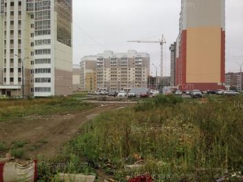 На фото видно: Совхозная улица, 6; Совхозная улица, 10; Таганская улица, 97. Екатеринбург (Свердловская область)
