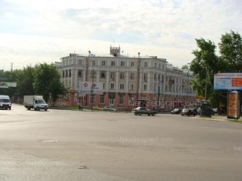 View to: Sibirskiy trakt street, 2; Vostochnaya street, 25. Yekaterinburg (Sverdlovskaya oblast)