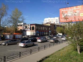 View to: Belorechenskaya street, 1А; Gurzufskaya street, 27А; Gurzufskaya street, 27. Yekaterinburg (Sverdlovskaya oblast)