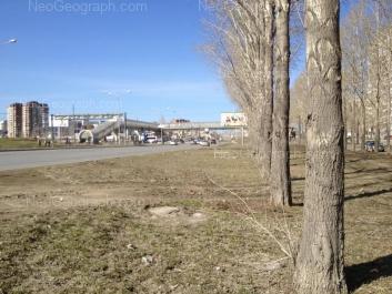 На фото видно: Бебеля улица, 152; Бебеля улица, 154; Таватуйская улица, 2/2; Таватуйская улица, 2. Екатеринбург (Свердловская область)