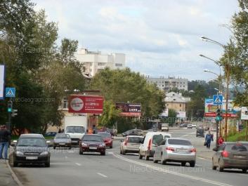 View to: Belorechenskaya street, 1А; Gurzufskaya street, 21; Gurzufskaya street, 45. Yekaterinburg (Sverdlovskaya oblast)