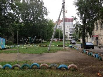 View to: Osoaviakhima lane, 107; Vosstaniya street, 116; Narodnogo fronta street, 62. Yekaterinburg (Sverdlovskaya oblast)