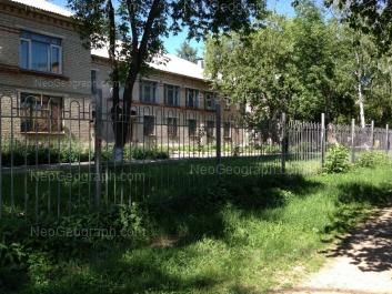 View to: Bannikova street, 11 (Детский сад №399 для детей с нарушениями опорно-двигательного аппарата). Yekaterinburg (Sverdlovskaya oblast)