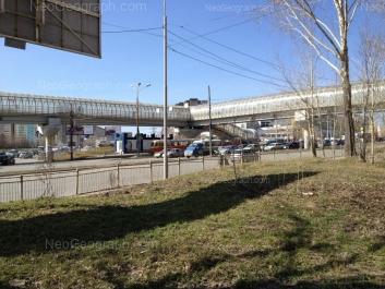View to: Bebeliya street, 115А; Bebeliya street, 115; Tavatuiskaya street, 1д. Yekaterinburg (Sverdlovskaya oblast)