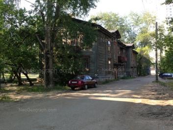 View to: Kuznetsova street, 11; Kuznetsova street, 13. Yekaterinburg (Sverdlovskaya oblast)