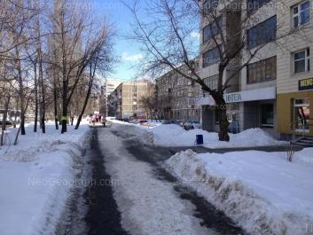 View to: Belorechenskaya street, 7/1; Belorechenskaya street, 9/1; Belorechenskaya street, 11/1; Belorechenskaya street, 13/1. Yekaterinburg (Sverdlovskaya oblast)