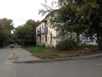 View to: Bibliotechnaya street, 35. Yekaterinburg (Sverdlovskaya oblast)