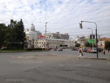 View to: Malisheva street, 43; Malisheva street, 68; Malisheva street, 68а; Rozi Luksemburg street, 4 (Покровский пассаж, ТЦ). Yekaterinburg (Sverdlovskaya oblast)