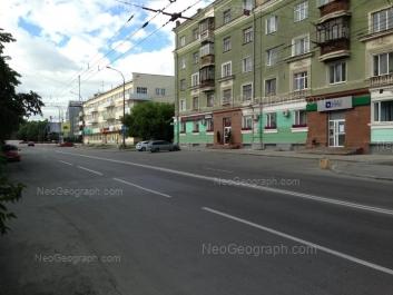 View to: Ordzhonikidze avenue, 1; Ordzhonikidze avenue, 3. Yekaterinburg (Sverdlovskaya oblast)