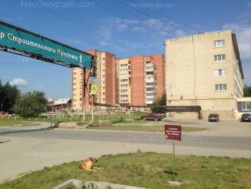 На фото видно: Окружная улица, 2; Окружная улица, 4. Екатеринбург (Свердловская область)