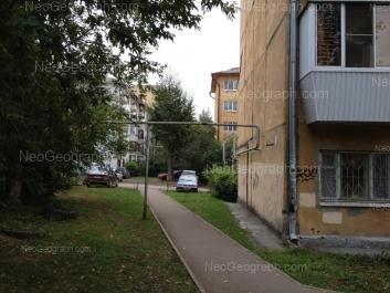 View to: Belorechenskaya street, 3Б. Yekaterinburg (Sverdlovskaya oblast)