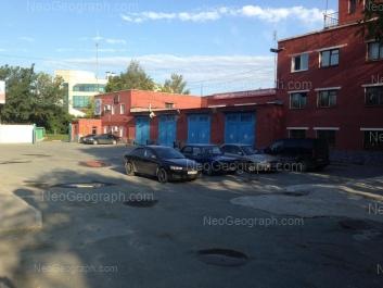 View to: Turbinnaya street, 1 (Пожарная часть). Yekaterinburg (Sverdlovskaya oblast)